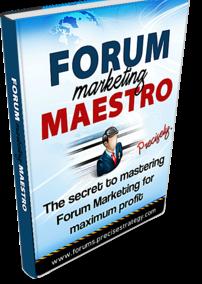 Forum Marketing Maestro