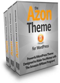 The Azon WordPress Theme